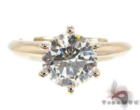 Solitaire Excitement Ring Engagement
