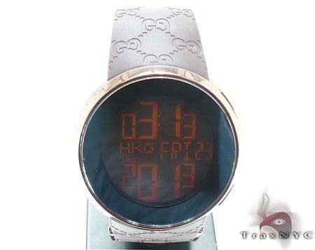 d4f17751255 Mens Diamond Jewelry   Diamond Watches   Gucci   Copper Digital 114 I-Gucci  Watch YA114209