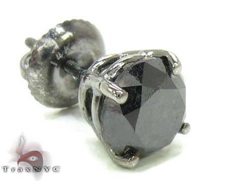 Royal Black Diamond Single Stud Style