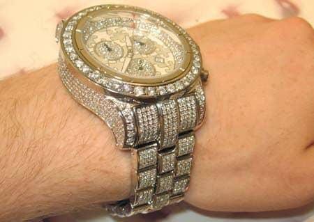 Joe rodeo masterpiece mens hip hop diamond watches white stainless mens diamond jewelry hip hop diamond watches joe rodeo masterpiece aloadofball Choice Image
