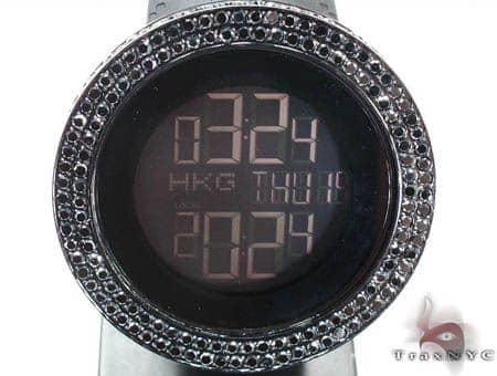 Black Diamond Gucci Watch YA114207 Gucci