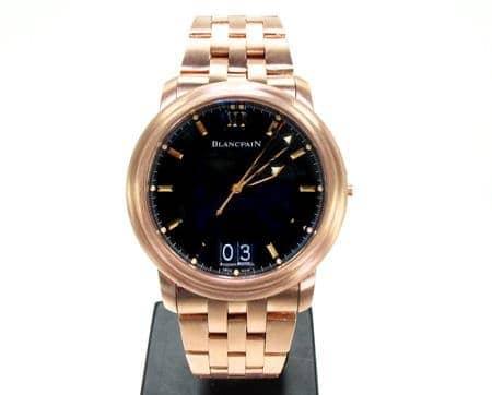Custom Jewelry - Mens Blancpain Leman Ultra Slim Watch Special Watches
