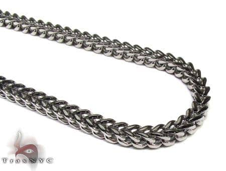 Stainless Steel Franco n 24 Inches, 6mm, 81.80 Grams Stainless Steel