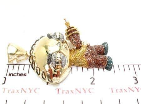 Custom jewelry stewie diamond pendant mens diamond pendant yellow mens diamond jewelry mens pendants metal custom jewelry stewie diamond pendant aloadofball Images
