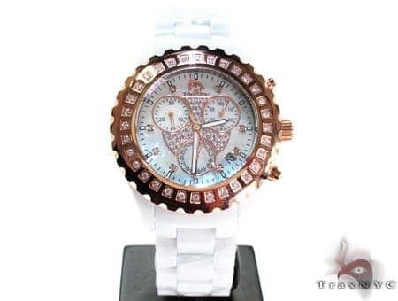 Techno Master Scalloped Diamond Watch TM-2136 Techno Master