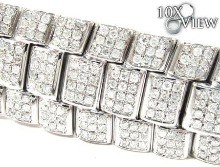 Joe Rodeo Fully Diamond Watch Band Watch Accessories