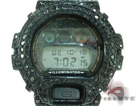 Black Gold G-Shock Illuminator Case Watch DW-6900 G-Shock