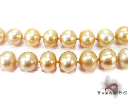 Gold Pearl Ladies Necklace 27352 Pearl