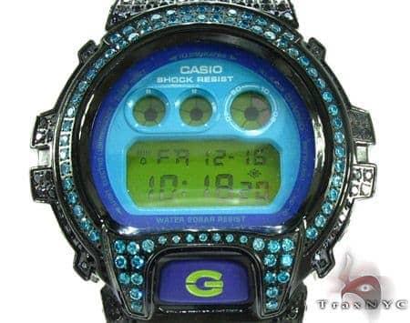 G-Shock Blue Color CZ Case Watch DW6900CS G-Shock