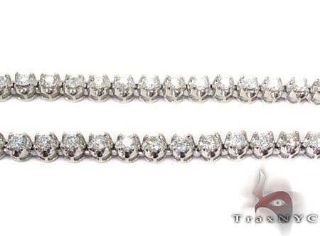 Prong Diamond Chain 30 Inches, 5mm, 72.9 Grams Diamond