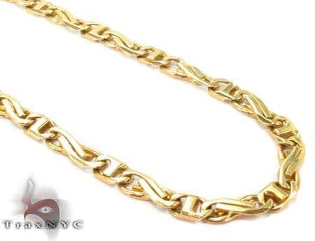18k Gold Italy Elegant Chain 20 Inches 4mm 31 2 Grams Mens Gold Yellow Gold 18k
