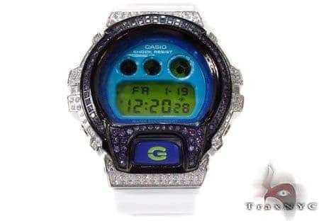 G-Shock White Color CZ Case Watch DW-6900CS 1.60 G-Shock
