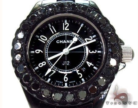 Chanel Black Diamond J12 Watch Ladies Special Watches