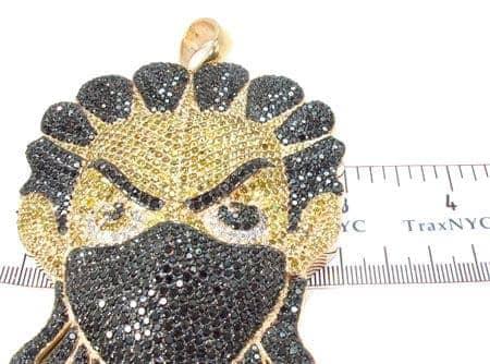 Custom jewelry diamond boondocks ninja pendant 32024 mens metal mens diamond jewelry mens pendants metal custom jewelry diamond boondocks ninja pendant 32024 aloadofball Images