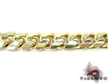 Miami Cuban Link Bracelet 7.5 Inches 12mm 76.0 Grams Gold