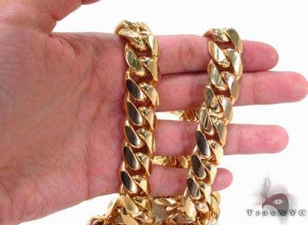 24a4f417edb42 Miami Cuban Curb Link Chain 30 Inches 16mm 552.4 Grams Cuban Link ...