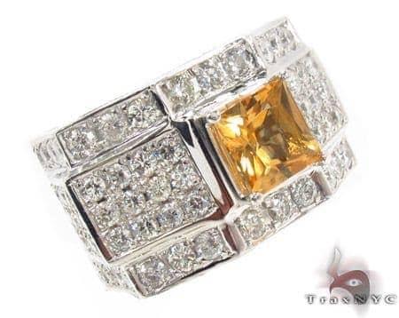Citrine Gemstone Ring Stone