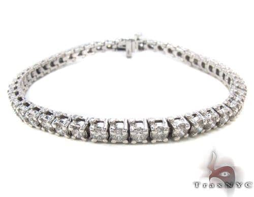 Prong Diamond Bracelet 34045 Tennis