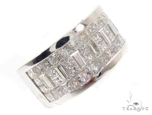 Invisible Diamond Wedding Band 34970 Style