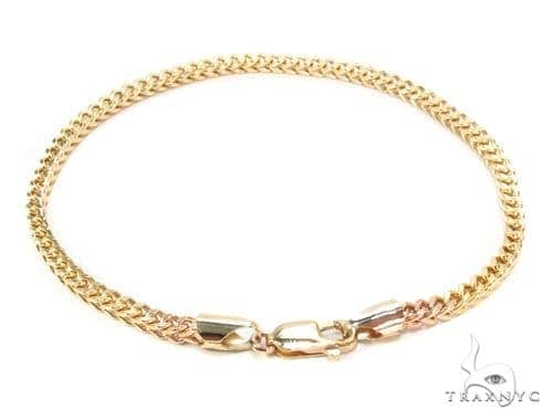 diamond franco gold tone two bracelet link mens ct