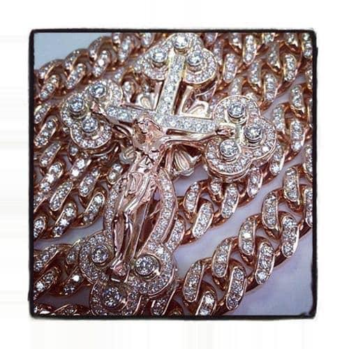 Diamond Christ The Savior Cross Diamond