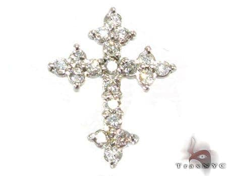 Ladies Tiny Enchanted Cross Featured Crosses