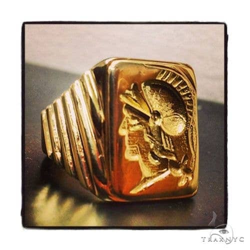 Mens Custom Jewelry Gladiator Ring Metal