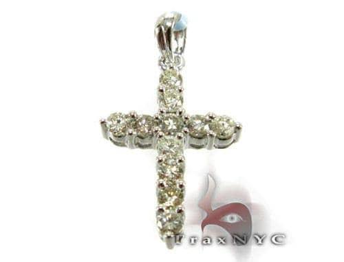 Mini Prong Cross Diamond