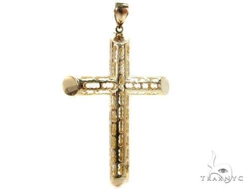 Gold Cross Pendant Gold