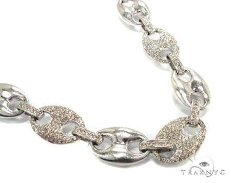 Champagne Chain 30.50 Inches, 14mm, 127. 39 Grams Diamond