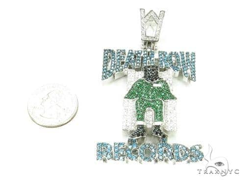 Custom death row pendant 37253 mens metal 925 silver mens diamond jewelry mens pendants metal custom death row pendant 37253 aloadofball Choice Image