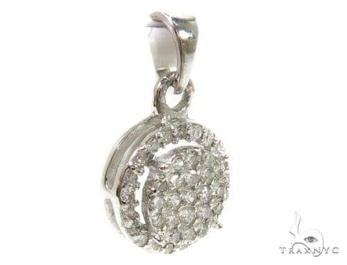 Prong Diamond Pendant 37895 Stone