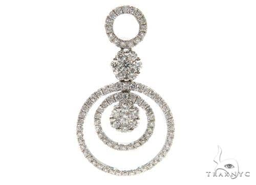 Bubble Diamond Pendant 38012 Stone