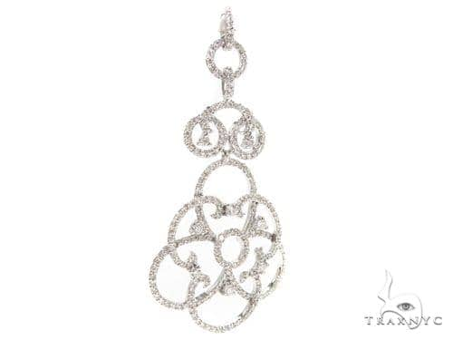 Prong Diamond Chandelier Pendant 38017 Stone