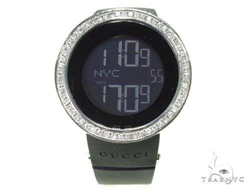 Prong Diamond Bezel Gucci Digital Watch Gucci