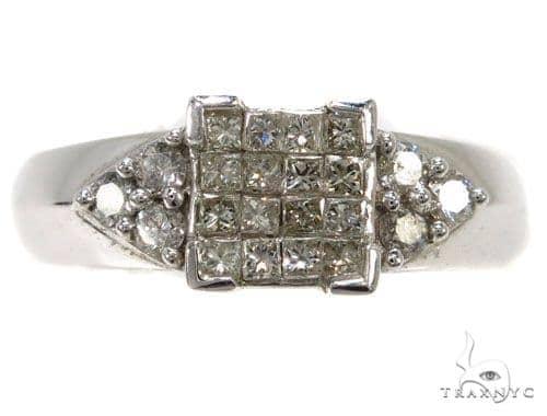 Invisible Diamond Wedding Ring 39789 Engagement