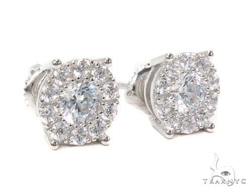 Sterling Silver Earrings 40304 Metal