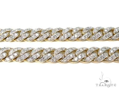 Prong Diamond Chain 30 Inches 10mm 179.9 Grams 40451 Diamond