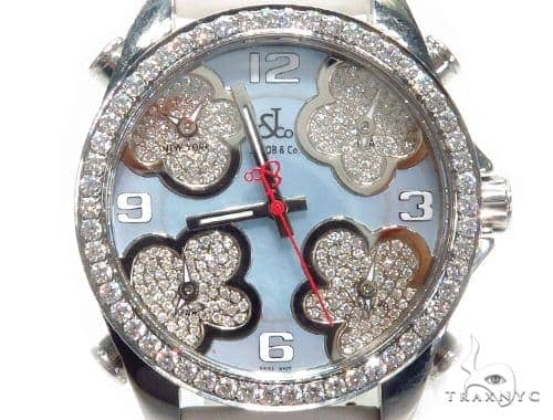 JACOB & Co Five Time Zone Diamond Watch JCMATH14 41001 JACOB & Co