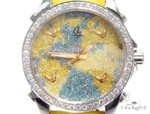 JACOB & Co Five Time Zone Diamond Watch JCM47YB 41006 JACOB & Co