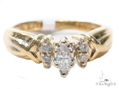 Prong Diamond Engagement Ring 41034 Engagement