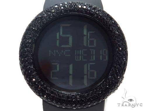 Prong Black Diamond Gucci Watch 41057 Gucci