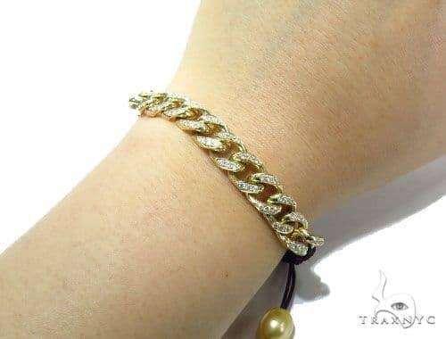 Mens Diamond Jewelry Men S Bracelets Miami Cuban Rope Bracelet 41216