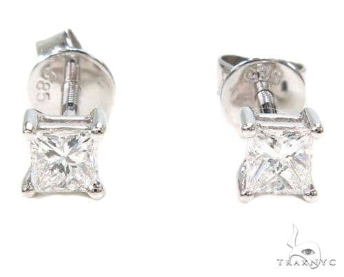 Prong Diamond Earrings 39849 Style