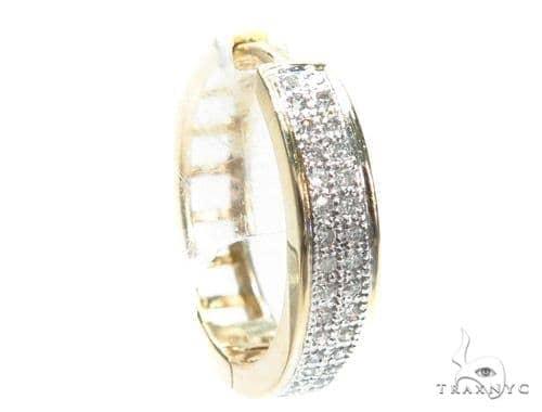 Prong Diamond Single Earring 41658 Style