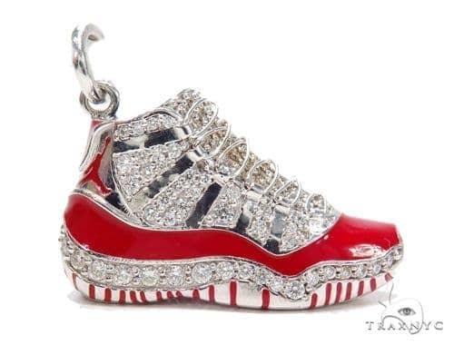 Mens Diamond Jewelry   Men s Pendants   Metal   Air Jordan 11 Sneaker  Pendant 42773 60a2511e9b0d