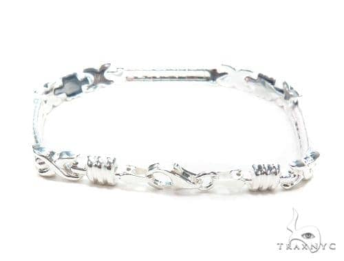 Silver Bracelet 43002 Silver & Stainless Steel