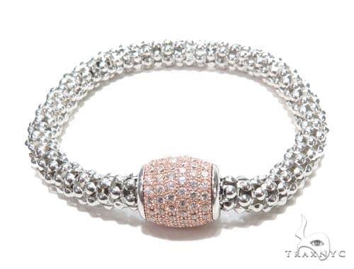 Silver Bracelet 43001 Silver & Stainless Steel