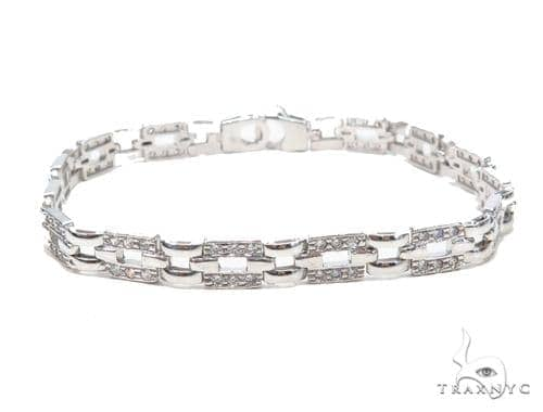 Silver Bracelet 43004 Silver & Stainless Steel