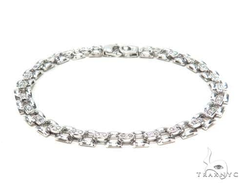 Silver Bracelet 43028 Silver & Stainless Steel